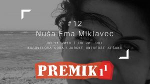 PREMIK 1 na 1 z Nušo Emo Miklavec